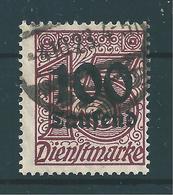 MiNr. D 92 Geprüft - Dienstpost