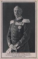 CARTE POSTALE ALLEMANDE - GUERRE 14-18 - FRIEDRICH II (n°1) - Guerre 1914-18