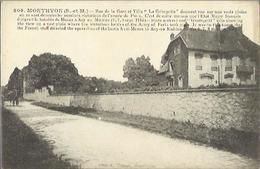 7848 CPA Monthyon Rue De La Gare Et Villa La Grimpette - Autres Communes