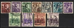 EGITTO - 1953 - SERIE INIZIO DELLA REPUBBLICA - USATI - Usati