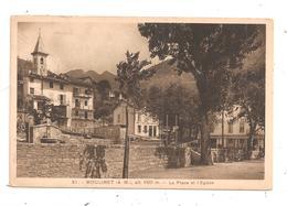 Moulinet-La Place Et L'Eglise- (D.132) - Autres Communes