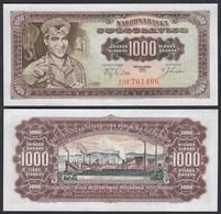 Jugoslawien - Yugoslavia 1000 1.000 Dinara 1963 Pick 75 UNC (23209 - Yougoslavie