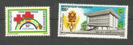 Gabon Poste Aérienne N°111, 121 Neufs** Cote 3.15 Euros - Gabon (1960-...)