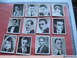 48 Chromos  Filmstar Cinema Movie Artists Tijdschrift DE FILM Advertising Miniatuur Portretten Voor In Album (heb Ik Nie - Chocolate