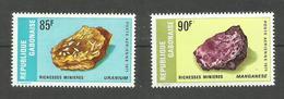 Gabon Poste Aérienne N°118, 119 Neufs** Cote 11.50 Euros - Gabon (1960-...)