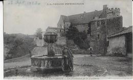 SAINT SATURNIN (Auvergne Pittoresque ) : La Fontaine- Le Militaire - Et Le Château - France