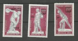 Gabon Poste Aérienne N°134 à 136 Neufs** Cote 6.20 Euros - Gabon (1960-...)