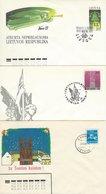 Lithuania 3 Covers. Postal Stationeries.  H-1042 - Lituanie