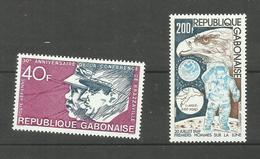 Gabon Poste Aérienne N°145, 149 Neufs** Cote 4.70 Euros - Gabon