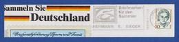 BRD MWSt Gebühr Bezahlt - LORCH, Sieger - Briefmarken Für Den Sammler 1988 - Zeppeline