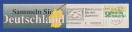 BRD MWSt Entgelt Bezahlt - LORCH, Sieger - Briefmarken Für Den Sammler 1992 - Zeppeline