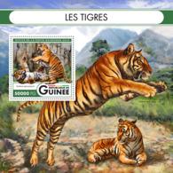 Guinea   2016  Fauna Tigers - Guinée (1958-...)