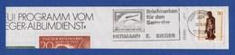 BRD MWSt Gebühr Bezahlt - LORCH, Sieger - Briefmarken Für Den Sammler 1983 - Zeppeline