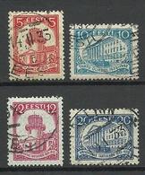 Estland Estonia 1932 Universität Dorpat Tartu Michel 94 - 97 O - Estland
