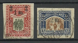 Estonie Estonia 1920 For Disabled Soldiers Michel 25 - 26 O - Estonia