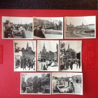 Photo. 112. Huit Petites Photos De Nijmegen En Hollande Dans Les Années 1950 - Lieux