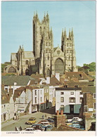 Canterbury: VOLVO 145, BEDFORD CA PICK-UP, AUSTIN MINI COUNTRYMAN, SIMCA 1100 - Cathedral From The Friars - Toerisme
