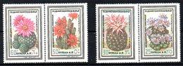 SYRIE. N°535-6 & 538-9 De 1978. Cactus. - Sukkulenten