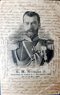 RUSSIE  S M NICOLAS 2 EMPEREUR DE RUSSIE TSAR  PORTRAIT VOYAGE 1901 - Russie