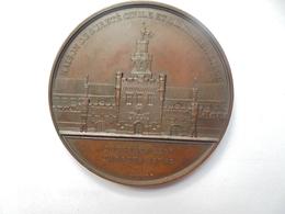 PRISON DE LIEGE(MAISON DE SURETE CIVILE ET MILITAIRE)-1847-1850 Par WIENER - 54 Grammes-50 Mm - Professionnels / De Société