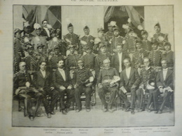 Le Gouvernement D'Haiti , Gravure Dochy 1891 - Historische Dokumente