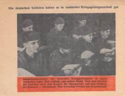 WWII WW2 Leaflet Flugblatt Tract Soviet Propaganda Against Germany  CODE 892 - 1939-45