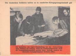 WWII WW2 Leaflet Flugblatt Tract Soviet Propaganda Against Germany  CODE 893 - 1939-45