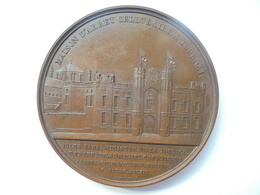 PRISON DE TOURNAI(JULES BARA MINISTRE DE LA JUSTICE)-1868-1871 Par JEHOTTE - 87 Grammes-60 Mm - Professionnels / De Société