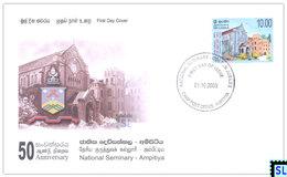 Sri Lanka Stamps 2005, National Seminary, Ampitiya, FDC - Sri Lanka (Ceylon) (1948-...)