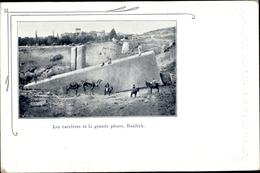 Cp Baalbek Libanon, Les Carrières Et La Grande Pierre - Inde