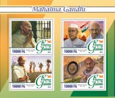 Guinea   2016  Mahatma Gandhi , Jawaharlal Nehru - Guinée (1958-...)