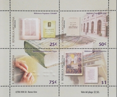 Argentina 2000 Libraries M/S - Unused Stamps
