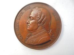 BELGIQUE-GRATITUDE PUBLIQUE -1848 Par C.JEHOTTE - 52 Grammes-50 Mm - Professionnels / De Société