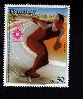 739749803  POSTFRIS MINT NEVER HINGED POSTFRISCH EINWANDFREI  SCOTT C556 1984 WINTER OLYMPICS SARAJEVO - Paraguay