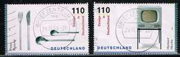 Bund 1999,Michel# 2068 + 2069 O Design In Deutschland, EM Aus Block 50 - [7] République Fédérale