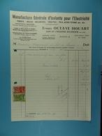 Manufacture Générale D'isolants Pour L'Electricité Etablissements Octave Houart Sclessin-lez-Liège  /8/ - Électricité & Gaz