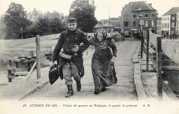 Militaria - Guerre 14/18 - Vision De Guerre En Belgique - Le Passé , Le Présent - Guerre 1914-18