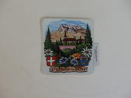 Autocollant Sur Saint-Gervais-les-Bains (74). - Stickers