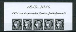 FRANCE 2019 / 170 ANS DU PREMIER TIMBRE CERES 0.88€/5 Neuf** - France