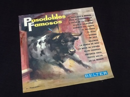 Vinyle 33 Tours  Pasodobles  Famosos  (1964) - Jazz