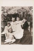 01292 - LE TSAR NICOLAS II Et Sa Famille En 1901 - Politicians & Soldiers