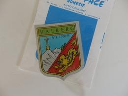 Autocollant Sur Valberg (06). - Autocollants