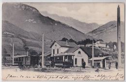 Gare De Crolles Le Touvet - Ligne Des Tramways Grenoble-Chapareillan - Tramway - Frankreich