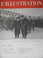 L'ILLUSTRATION N°5043 28 Octobre 1939 La Conférence De Stockholm; La Guerre Des Mines; Chasse Aux Sous-marins - Journaux - Quotidiens