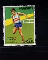 739760645  POSTFRIS MINT NEVER HINGED POSTFRISCH EINWANDFREI  SCOTT C550 SUMMER OLYMPICS LOS ANGELES - Paraguay