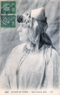 Tunisie - Judaica - Type De Femme Juive - Judaisme