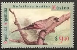 Argentina 1994 Molothrus Badius  Scott $25.00 - Argentina