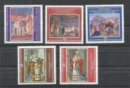 BULGARIA  YVERT  2524/28    MNH  ** - Bulgarie