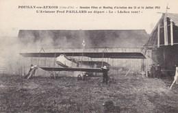 POUILLY EN AUXOIS -  CÔTE D'OR  -  (21)  -  RARE CPA ANIMÉE. - ....-1914: Précurseurs