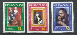 BULGARIA  YVERT  2734/36     MNH  ** - Bulgarie